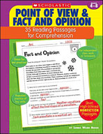 35 Reading Passages for Comprehension: Point of View and Fact and Opinion