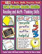 3rd Grade Basic Skills: Reading and Math - Thinking Skills (Enhanced eBook)