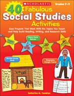40 Fabulous Social Studies Activities (Enhanced eBook)