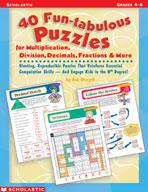 40 Fun-tabulous Puzzles (Enhanced eBook)