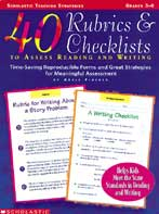 40 Rubrics & Checklists to Assess Reading and Writing
