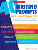 40 Writing Prompts With Graphic Organizers (Enhanced eBook)