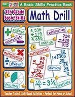 4th Grade Basic Skills: Math Drill (Enhanced eBook)