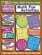 4th Grade Basic Skills: Math Fun Activities