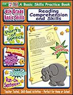 4th Grade Basic Skills: Reading Comprehension and Skills (Enhanced eBook)
