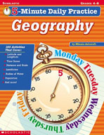 5-Minute Daily Practice: Geography (Enhanced eBook)