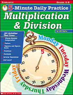 5-Minute Daily Practice: Multiplication & Division