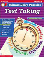 5-Minute Daily Practice: Test Taking (Enhanced eBook)