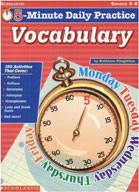 5-Minute Daily Practice: Vocabulary (Enhanced eBook)