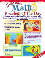 5-Minute Math Problem of the Day (Enhanced eBook)