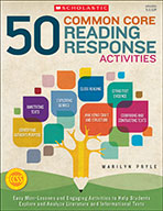 50 Common Core Reading Response Activities (eBook)