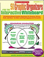 50 Graphic Organizers for the Interactive Whiteboard (Optimized eBook)