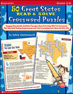 50 Great States Read & Solve Crossword Puzzles