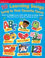 50 Learning Songs Sung To Your Favorite Tunes (Enhanced eBook)