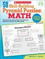 50 Skill-Building Pyramid Puzzles: Math (Grades 2-3) (Enha