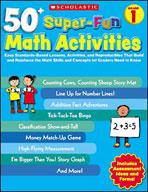 50+ Super-Fun Math Activities: Grade 1 (Enhanced eBook)