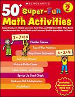 50+ Super-Fun Math Activities: Grade 2