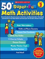 50+ Super-Fun Math Activities: Grade 3