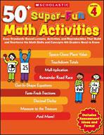 50+ Super-Fun Math Activities: Grade 4 (Enhanced eBook)