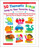 50 Thematic Songs Sung to Your Favorite Tunes (Enhanced eBook)