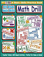 5th Grade Basic Skills: Math Drill