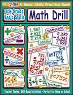 5th Grade Basic Skills: Math Drill (Enhanced eBook)