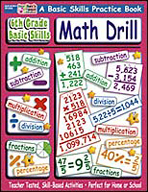 6th Grade Basic Skills: Math Drill (Enhanced eBook)