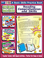 6th Grade Basic Skills: Reading Comprehension and Skills (Enhanced eBook)