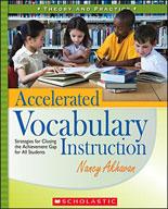 Accelerated Vocabulary Instruction