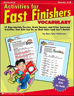 Activities for Fast Finishers: Vocabulary (Enhanced eBook)
