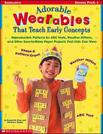 Adorable Wearables That Teach Early Concepts (Enhanced eBook)