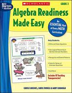 Algebra Readiness Made Easy: Grade 2
