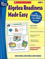 Algebra Readiness Made Easy: Grade 3
