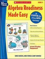 Algebra Readiness Made Easy: Grade 4 (Enhanced eBook)