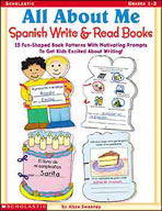 All About Me Spanish Write and Read Books (Enhanced eBook)