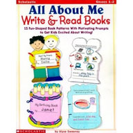 All About Me Write and Read Books (Enhanced eBook)