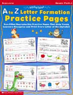 AlphaTales: A to Z Letter Formation Practice Pages (Enhanc