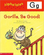AlphaTales: G: Gorilla, Be Good! (Enhanced eBook)
