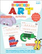 Alphabet Art Activities (Enhanced Ebook)