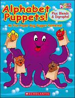 Alphabet Puppets! Plus Blends and Digraphs (Enhanced eBook)