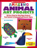Amazing Animal Art Projects (Enhanced eBook)