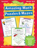 Amazing Math Puzzles & Mazes (Enhanced eBook)