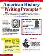 American History Writing Prompts (Enhanced eBook)