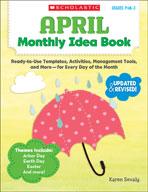 April Monthly Idea Book