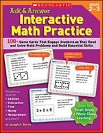 Ask and Answer Interactive Math Practice (Grades 2-3) (Enhanced eBook)