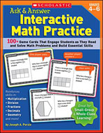 Ask and Answer Interactive Math Practice (Grades 4-6)