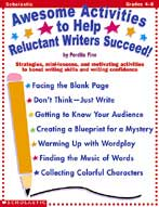 Awesome Activities To Help Reluctant Writers Succeed (Enhanced eBook)