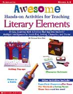 Awesome Hands-on Activities for Teaching Literary Elements (Enhanced eBook)