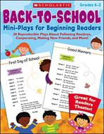Back-to-School Mini-Plays for Beginning Readers (Enhanced eBook)
