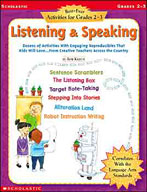Best-Ever Activities for Grades 2-3: Listening and Speaking (Enhanced eBook)